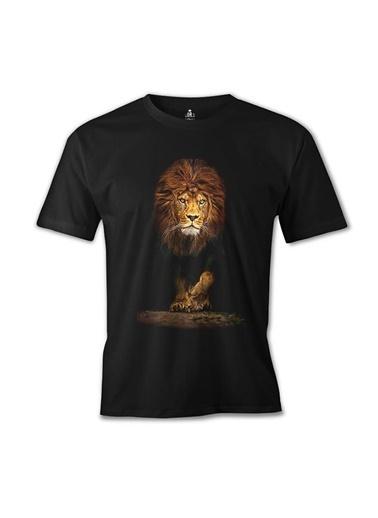 Lord Tshirt Aslan 1 Siyah Erkek Tshirt Siyah